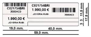 Foto Etiquetas Térmicas Joyería de